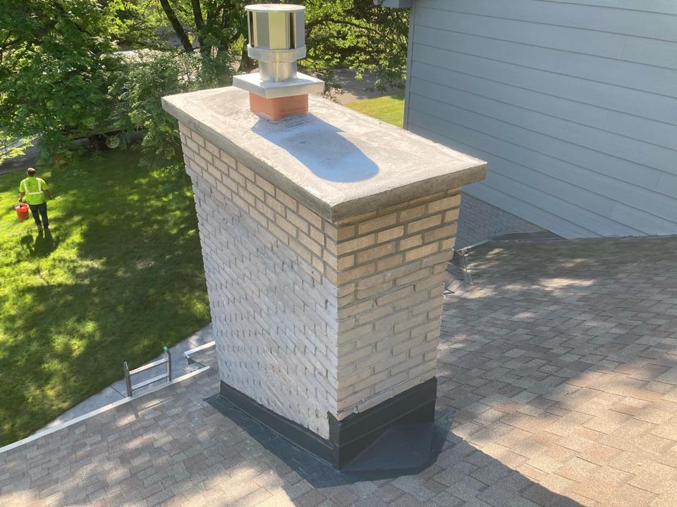 Minnetonka, MN - Sealed chimney