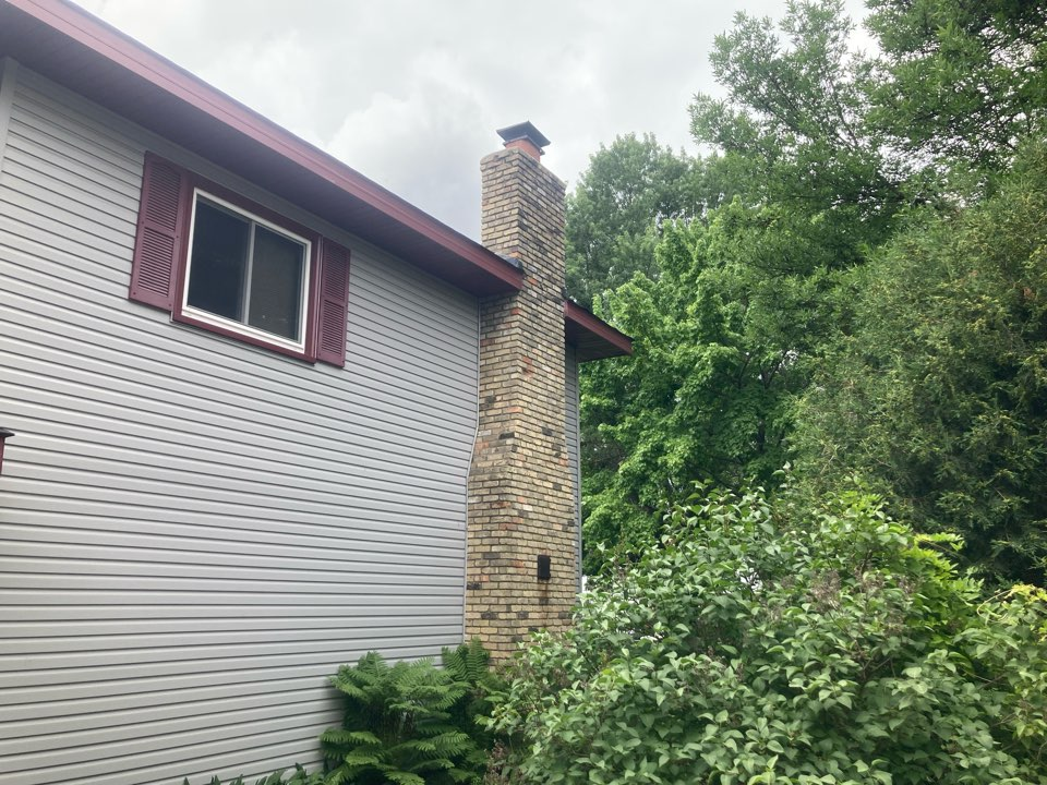 Blaine, MN - Chimney cleaning and smartscan flue liner inspection - proposal for brick work and a new lining system