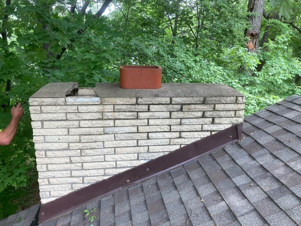 Lino Lakes, MN - Estimate for brick work