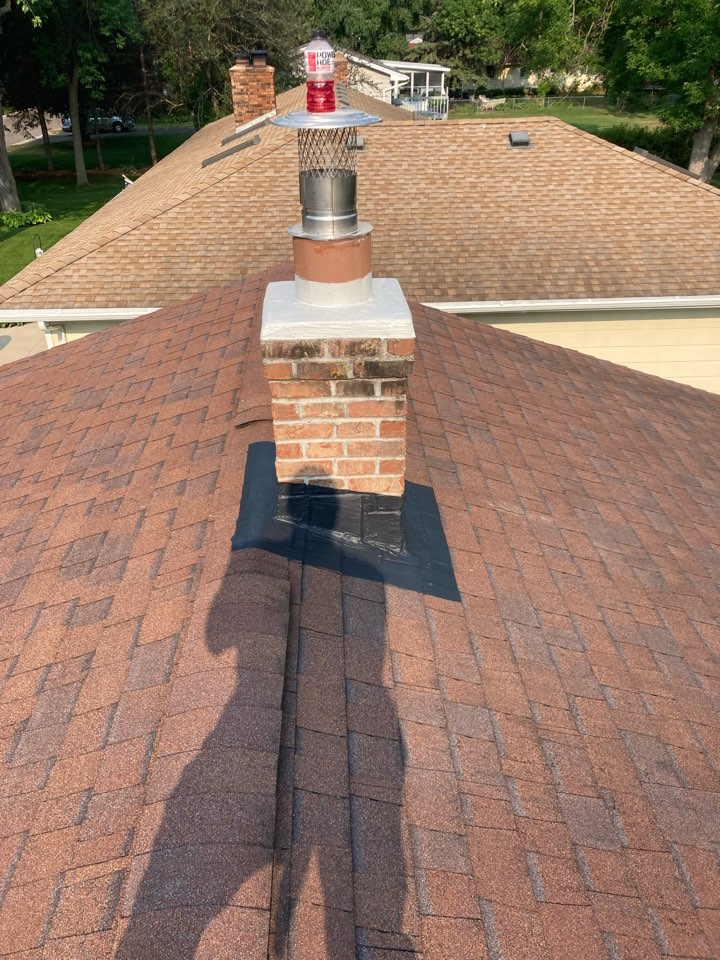 Shoreview, MN - New 6 inch liner and exterior work