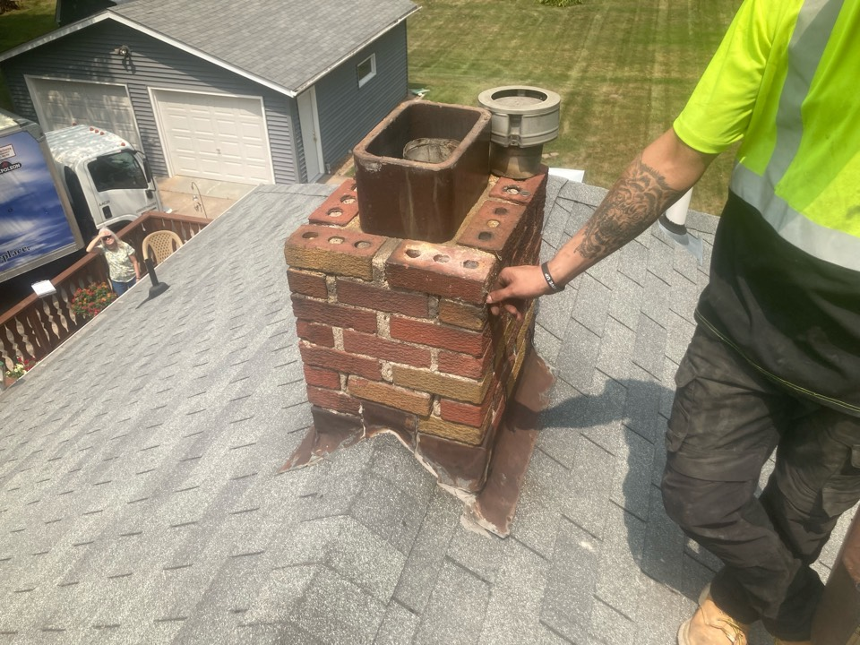 Forest Lake, MN - Booked for a roofline rebuild