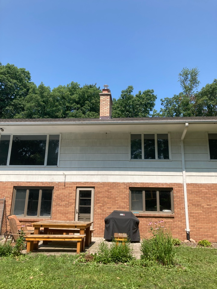 North Oaks, MN - Rebuilt chimney