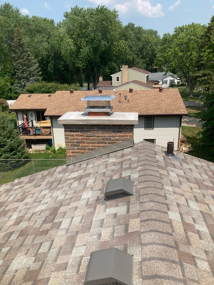 Plymouth, MN - Sealed chimney