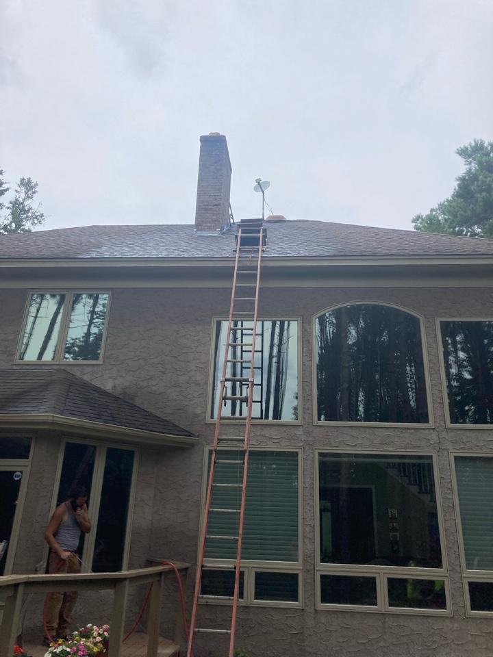 North Oaks, MN - Install 12 inch liner