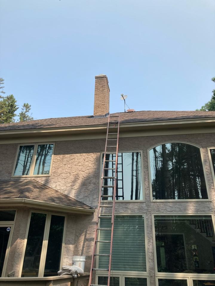 North Oaks, MN - Sealed chimney