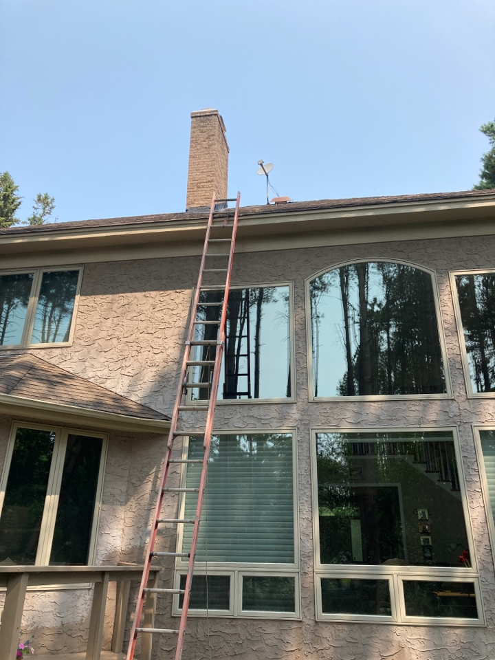 North Oaks, MN - Flash seal, crown coat, cap and clean up