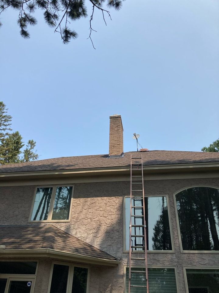 North Oaks, MN - Crown coat and flash seal