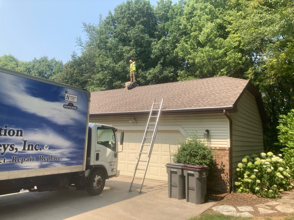 """Chanhassen, MN - Booked for a new 9"""" lining system and ext repairs"""