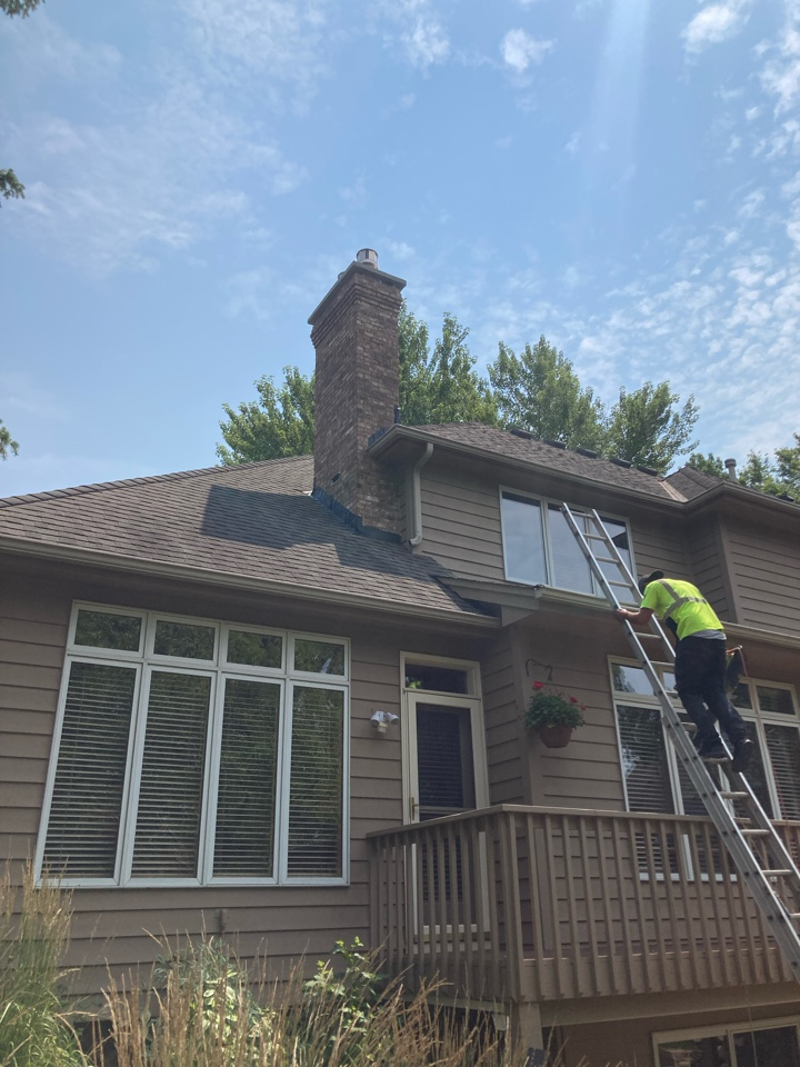 Eagan, MN - Sealed chimney