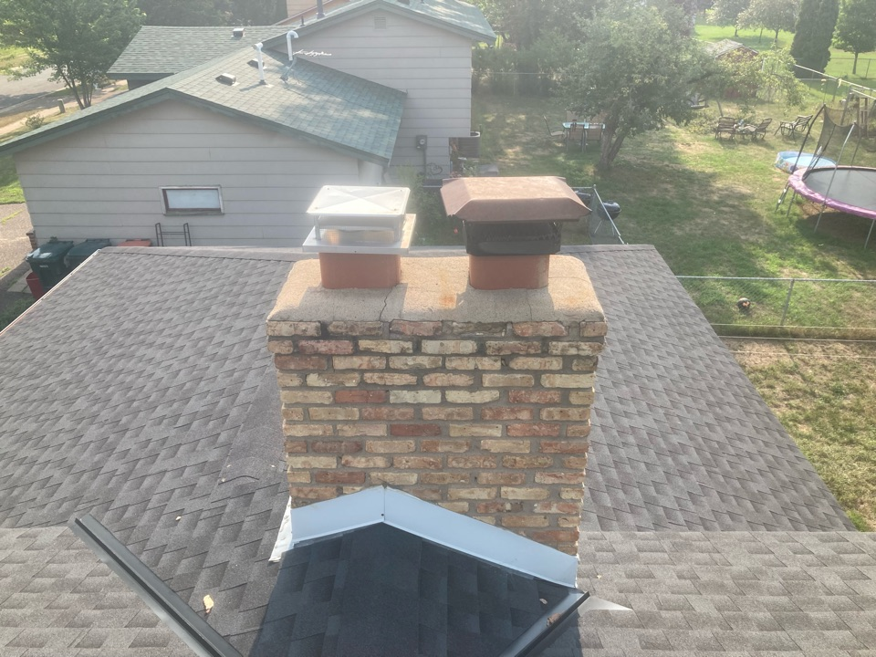 Blaine, MN - Chimney cleaning and smartscan flue liner inspection- proposals for repair options