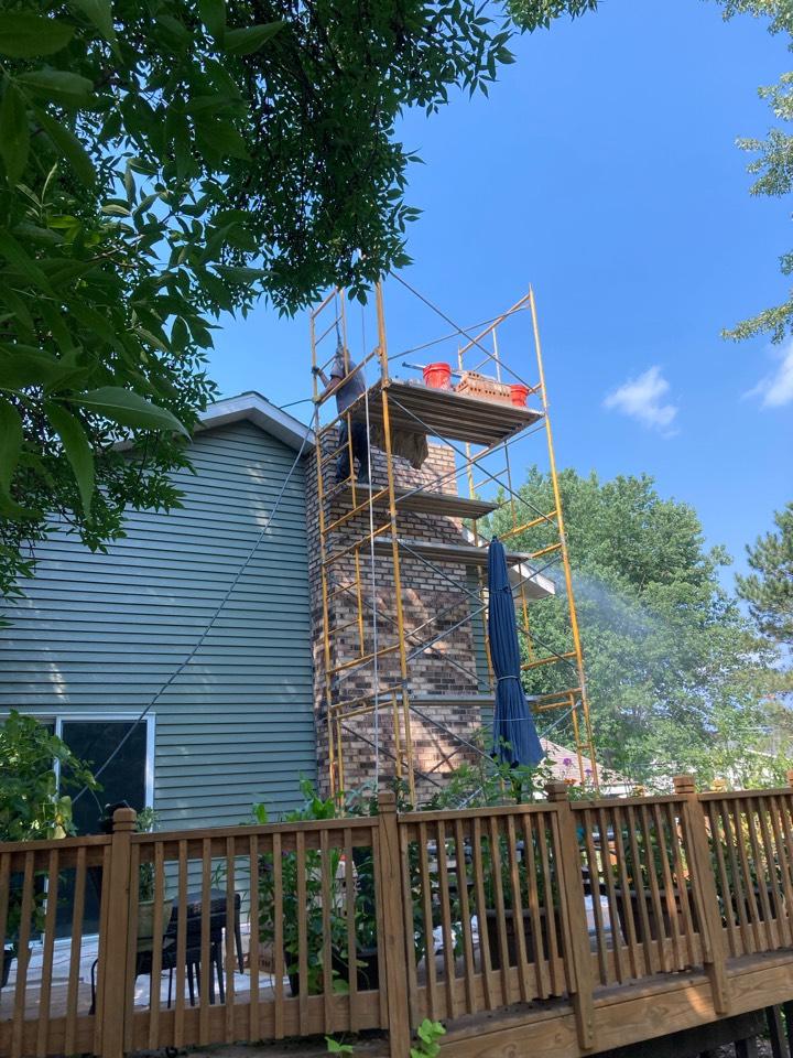 White Bear Lake, MN - Chimney repair