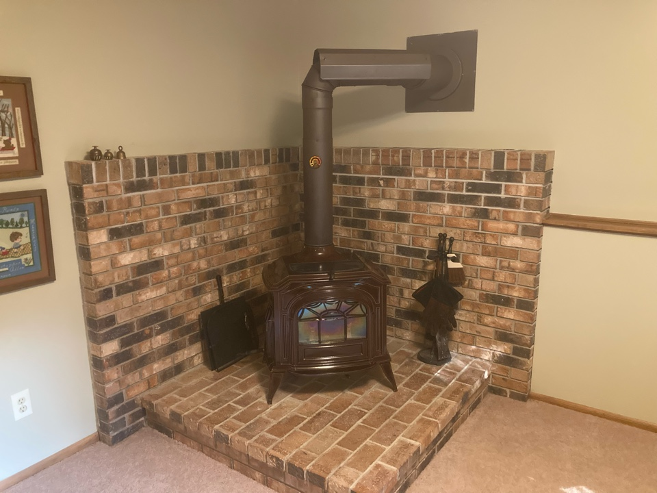 New Brighton, MN - Chimney cleaning and smartscan flue liner inspection