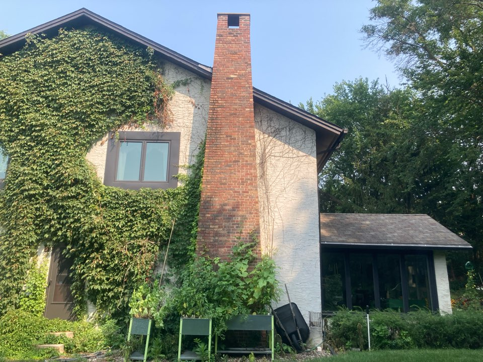 Mendota Heights, MN - Chimney cleaning and smartscan flue liner inspection- removed 95 gallons of ash from ash dump- proposal for 55 courses and a new lining system