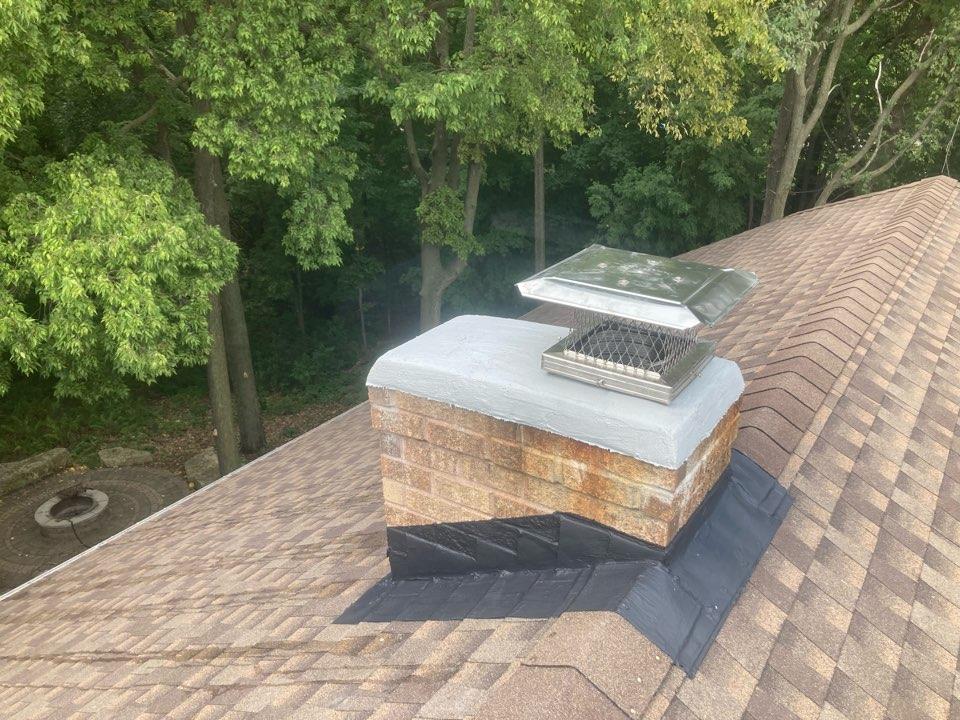 Chanhassen, MN - Basement kozy heat reline - exterior repairs