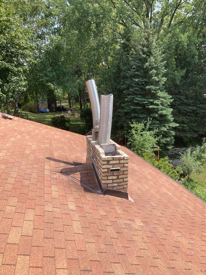 Vadnais Heights, MN - Installed two new stainless steel lining systems