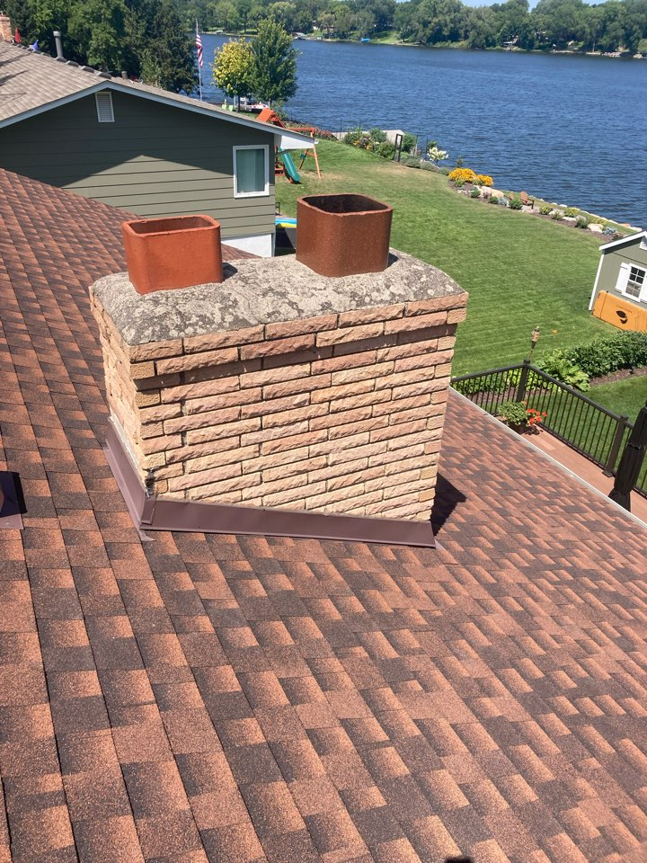 Brooklyn Park, MN - Chimney clean and smart scan flue liner inspection