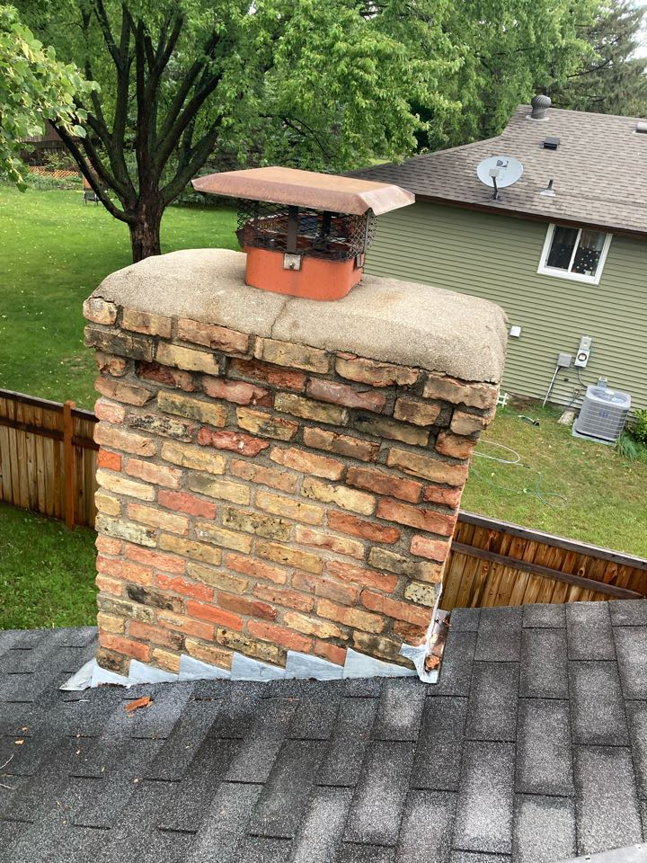 Apple Valley, MN - Chimney clean and smart scan flue liner inspection