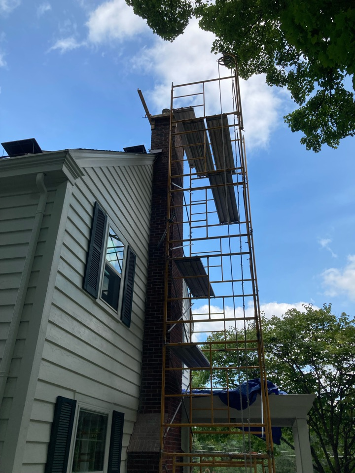 Marine on Saint Croix, MN - Rebuilt and relined chimney