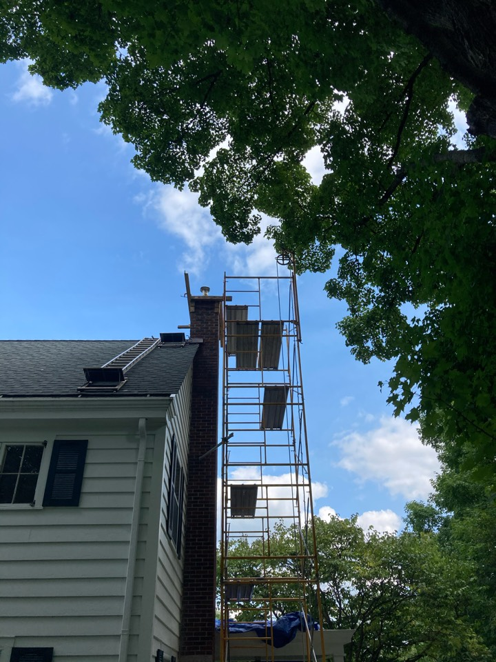 Marine on Saint Croix, MN - Crown and tuck pointing