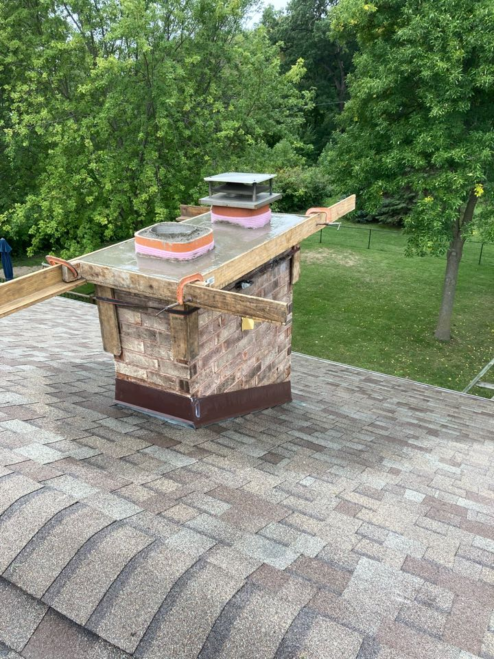 Chaska, MN - Stainless steel liner and crown