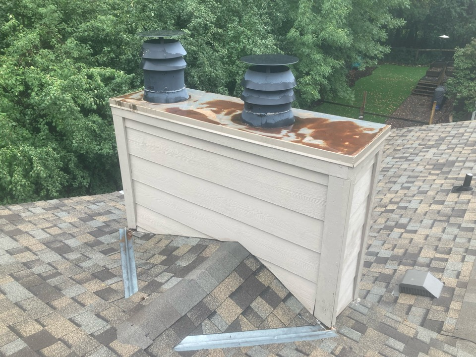 Wayzata, MN - Double chimney cleaning and smartscan flue liner inspection- dryer vent cleaning - proposals for repair options