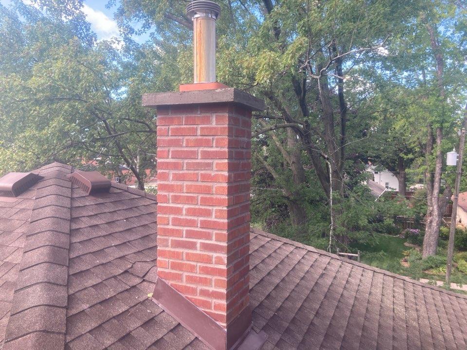 Forest Lake, MN - Roofline rebuild final