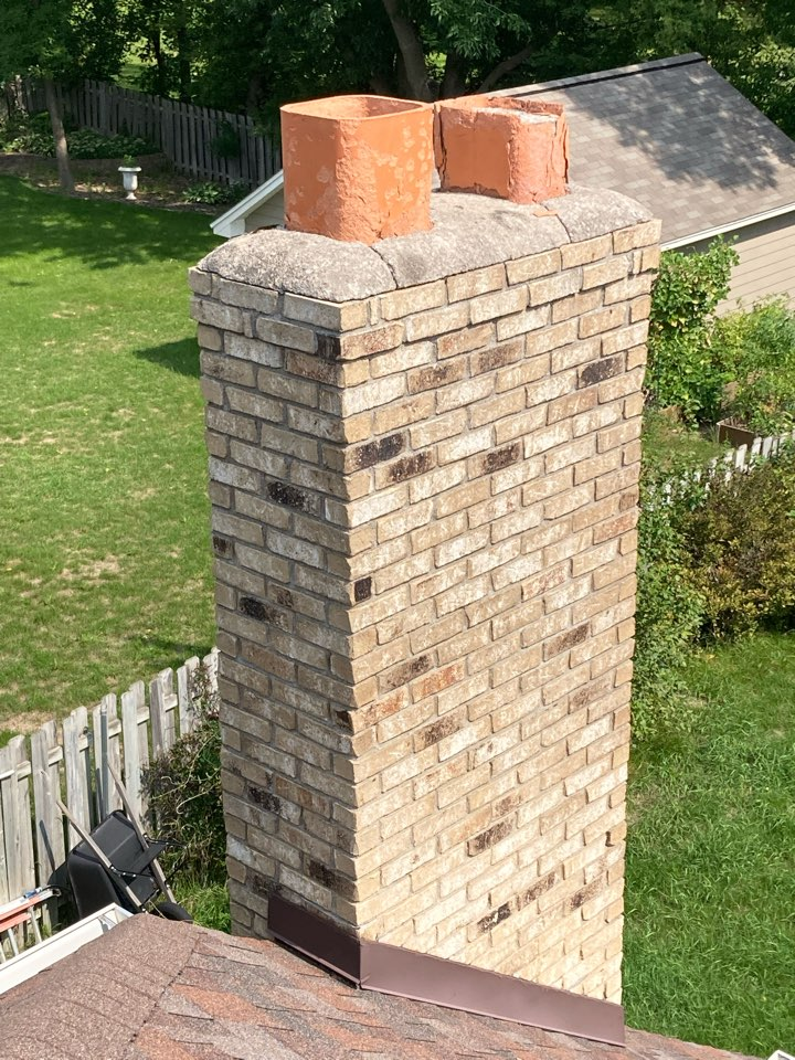 Arden Hills, MN - Chimney clean and smart scan inspection