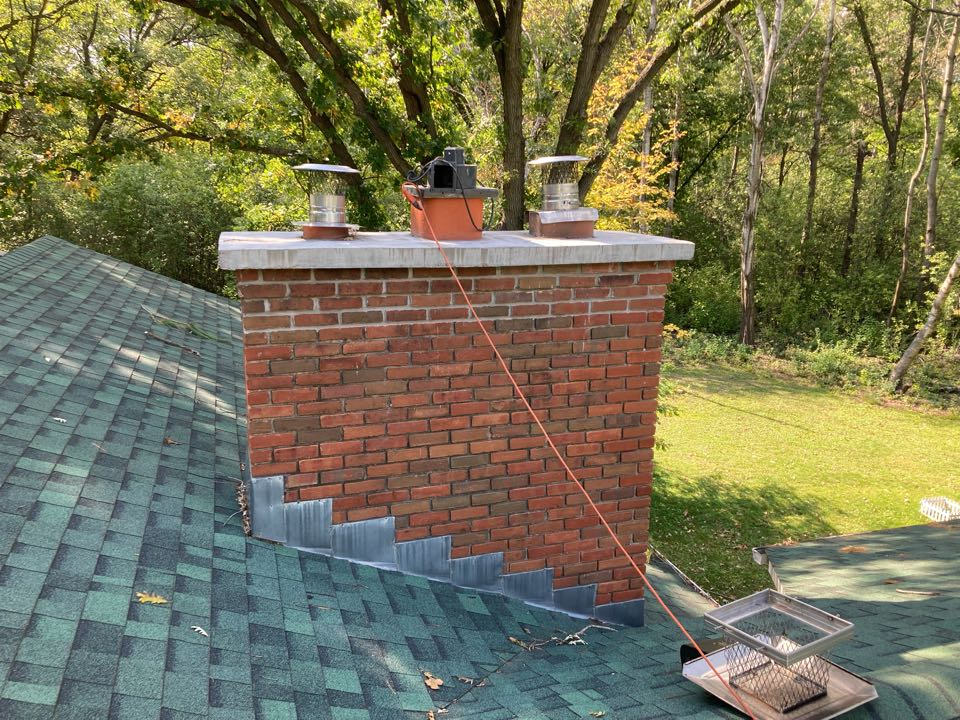 Hugo, MN - Chimney clean and smart scan inspection