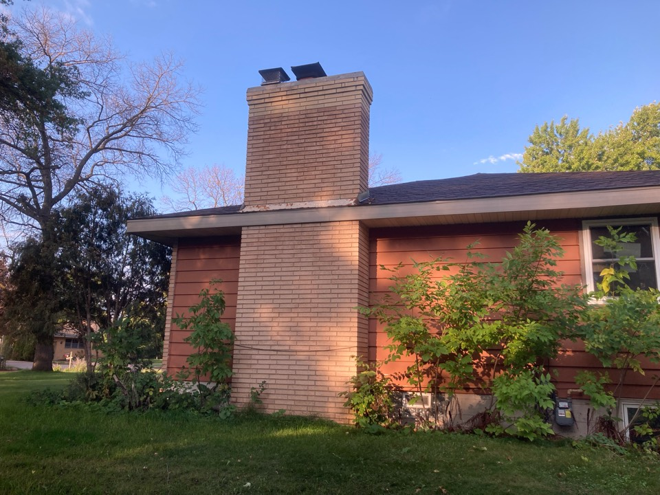 Coon Rapids, MN - Chimney cleaning and double smartscan flue liner inspection- proposals for repairs