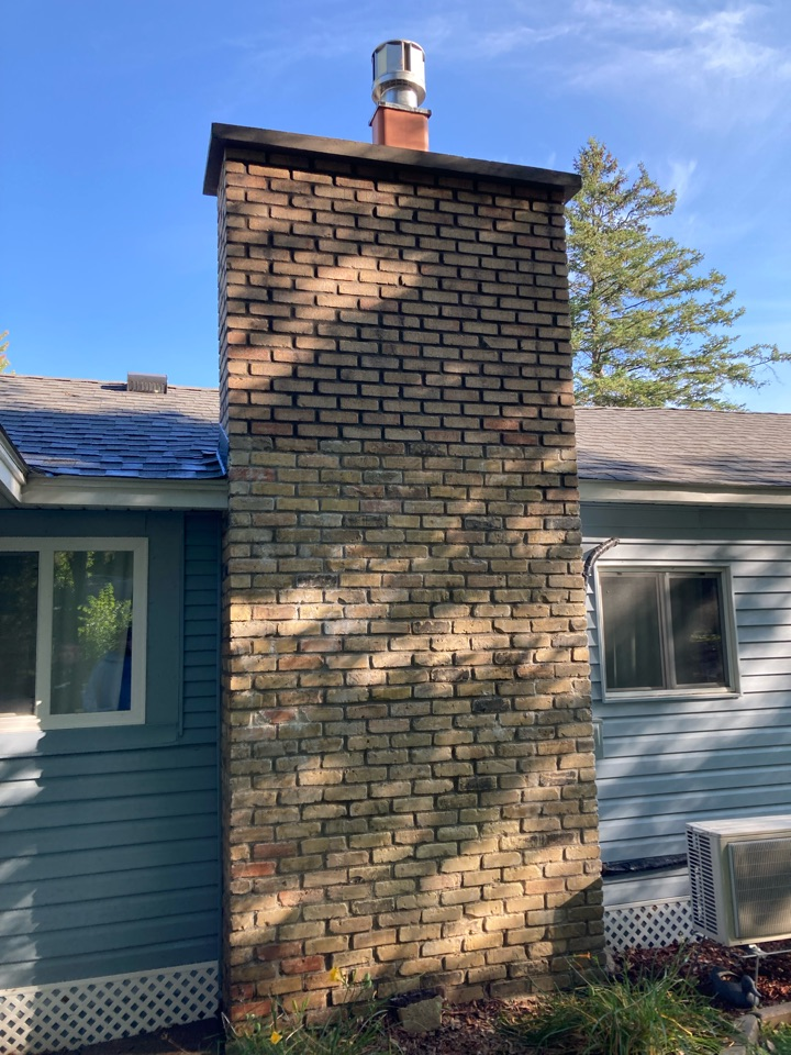 Isanti, MN - Sealed chimney