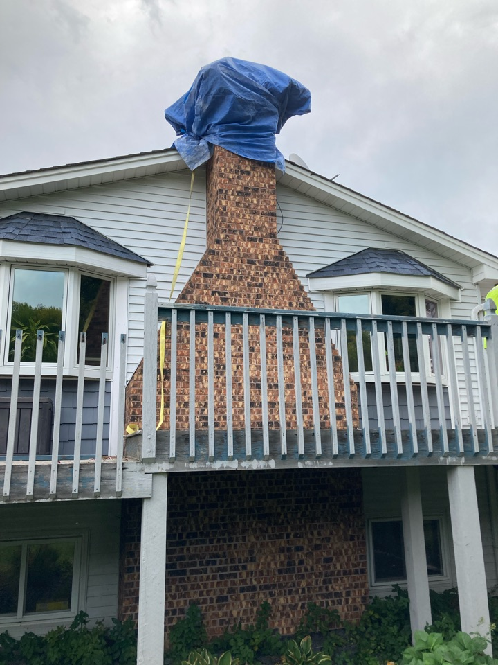 Forest Lake, MN - Relined chimney