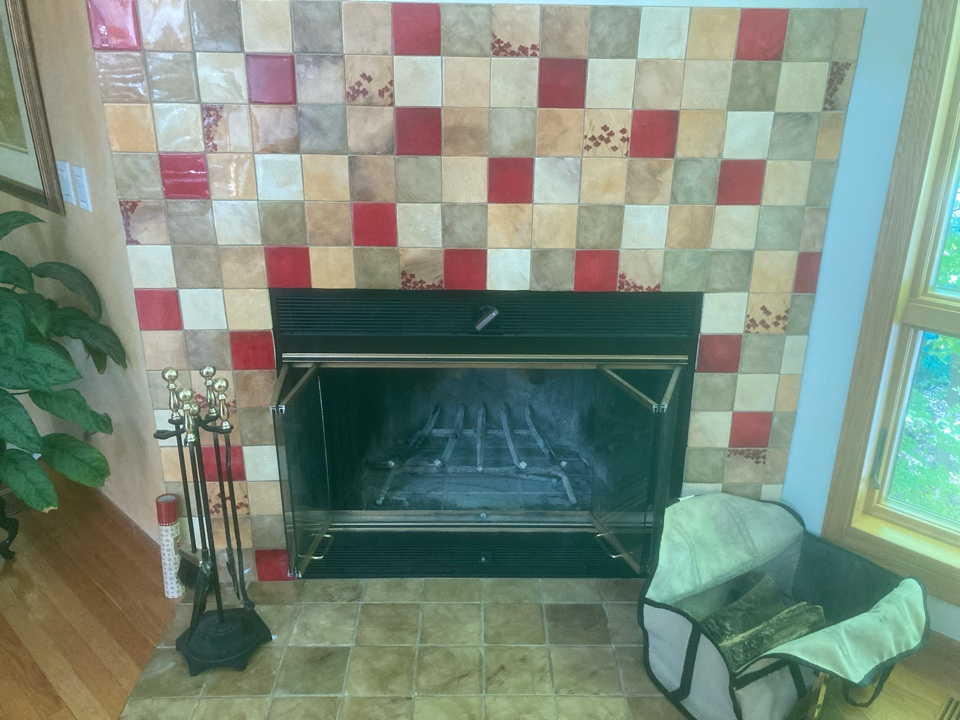 Chanhassen, MN - Chimney cleaning and smartscan flue liner inspection- booked for a new refractory floor panel replacement