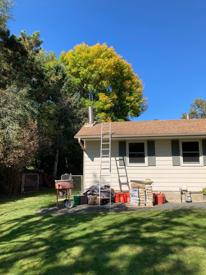 Andover, MN - Installed new stainless steel lining system