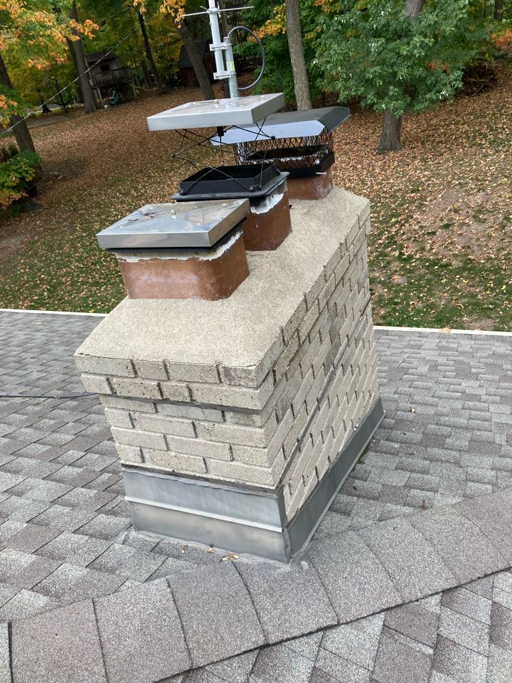 Minnetonka, MN - Chimney clean and smart scan flue liner inspection