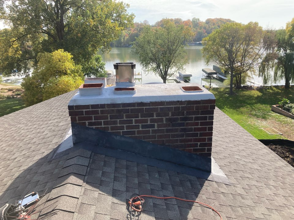 Mound, MN - Double chimney clean and smart scan inspection