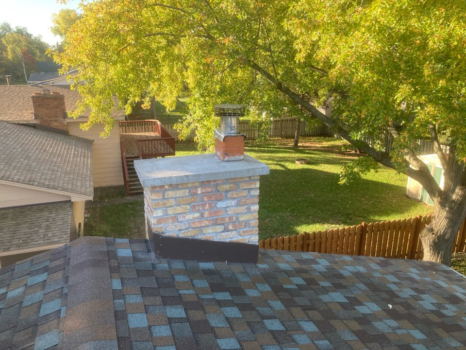Coon Rapids, MN - Chimney cleaning and smartscan flue liner inspection - proposal for new firebrick -