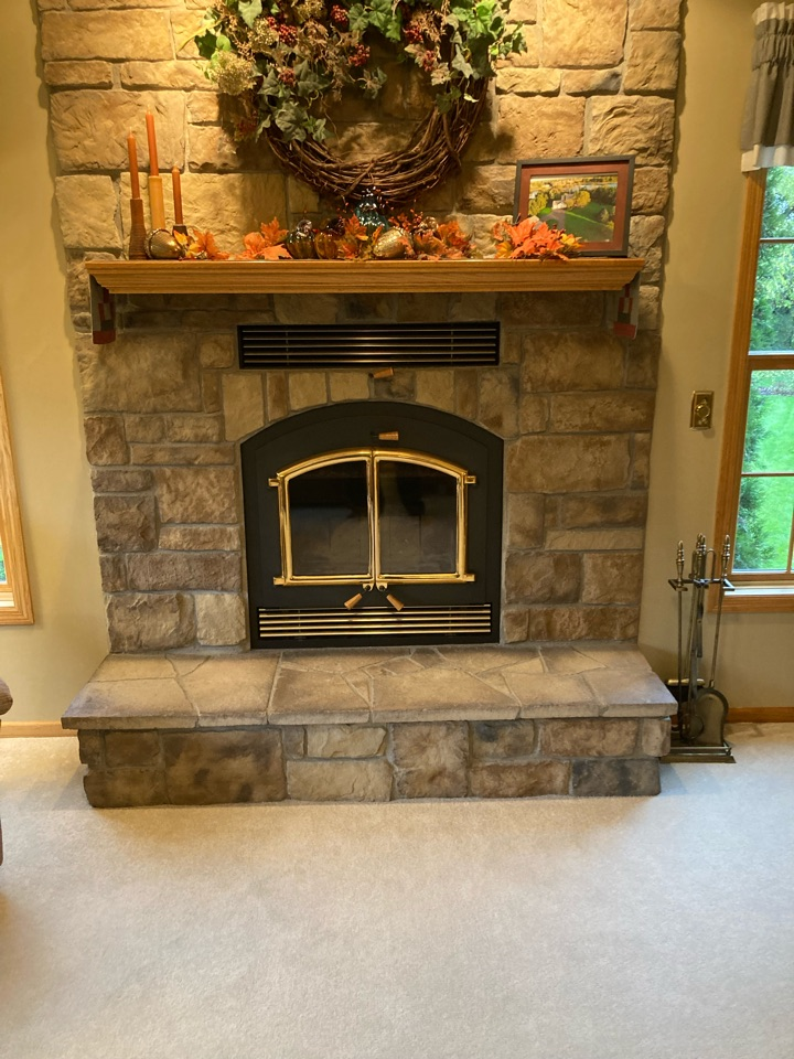 Chisago City, MN - Chimney clean and smart scan inspection
