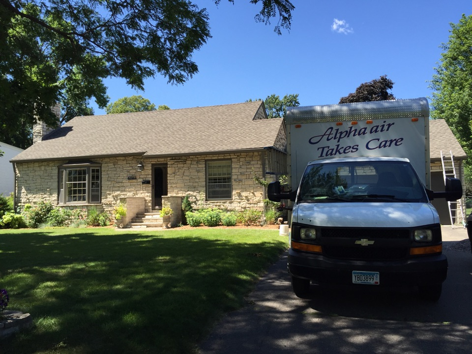 Richfield, MN - Cleaned duct work.