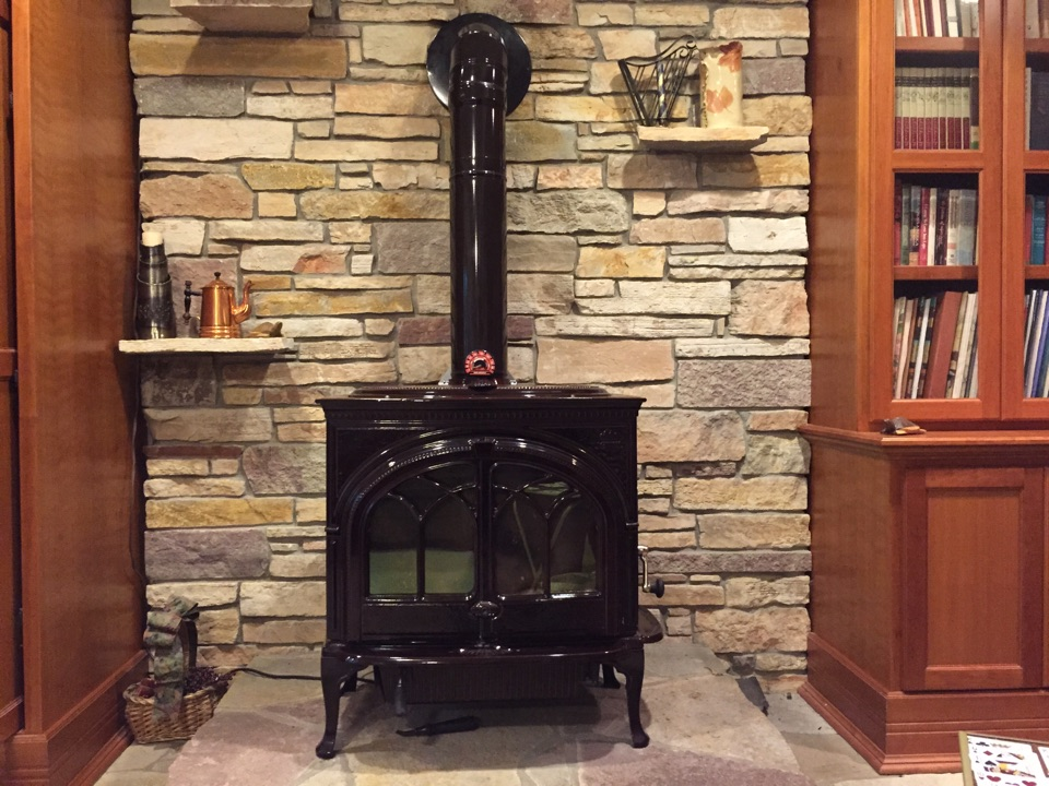Lake Elmo, MN - Wood Stove & HomeSaver liner installation! 😍
