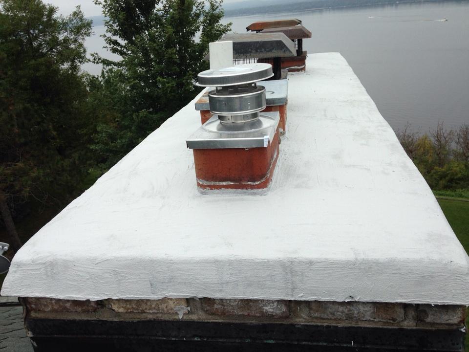 Hudson, WI - Crown sealant application