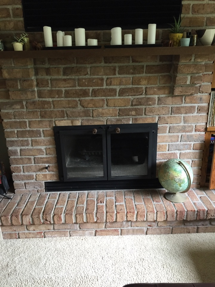 Hudson, WI - Chimney clean and Chim-Scan inspection