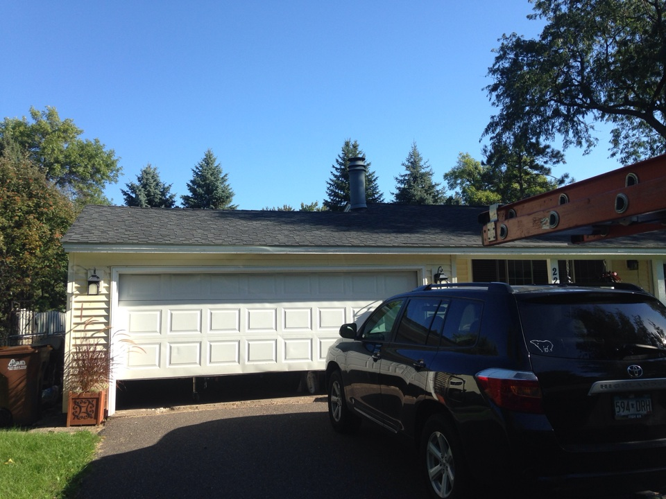 White Bear Lake, MN - Chimney cleaning and SmartScan flue liner inspection.