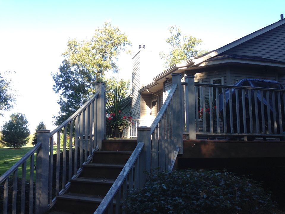 Oak Grove, MN - Chimney cleaning and SmartScan flue liner inspection, also cleaned out dryer vent