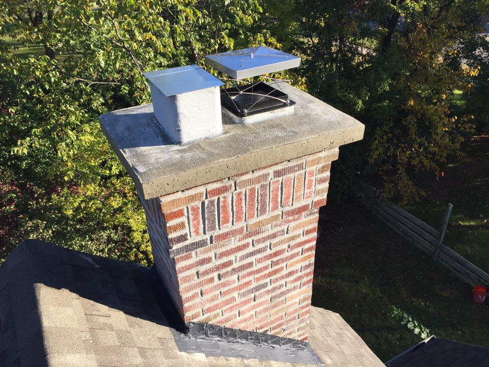 Brooklyn Park, MN - Installed an energy efficient top mounted damper system-no more cold drafts from this fireplace