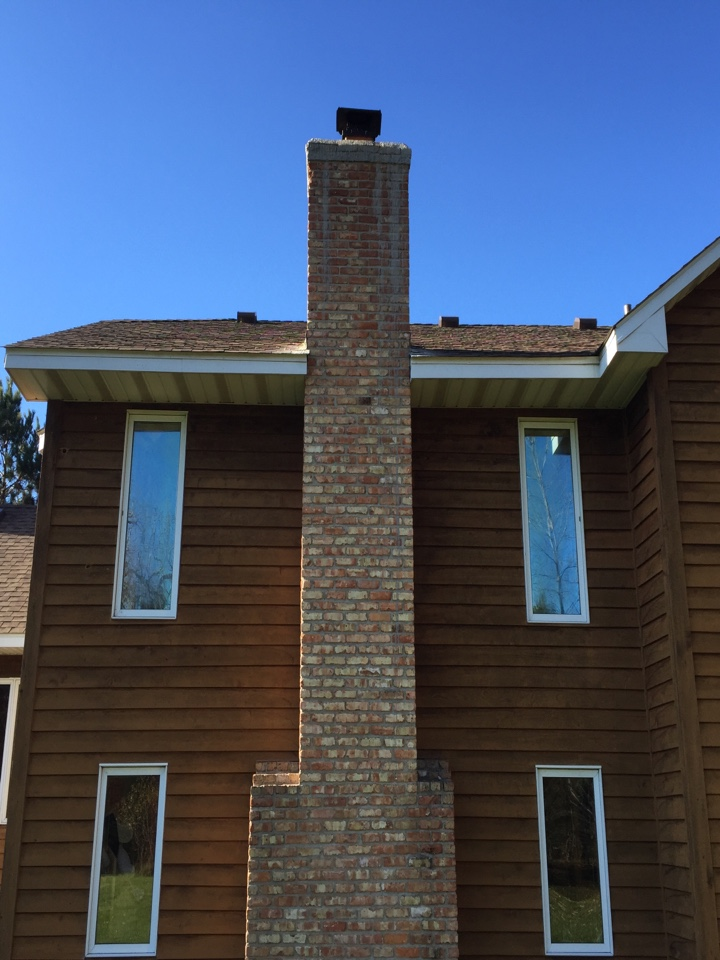 White Bear Lake, MN - Stripping off old appoxy coating over the crown so when can apply a new appoxy coating