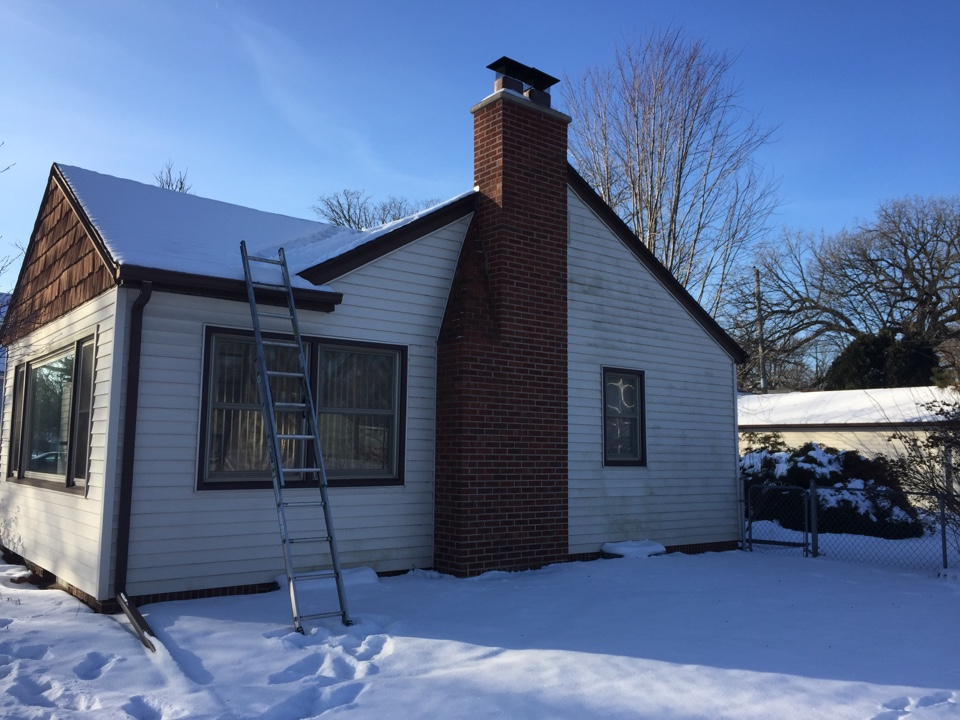 Richfield, MN - Double chimney cleaning and smartscan flue liner inspection