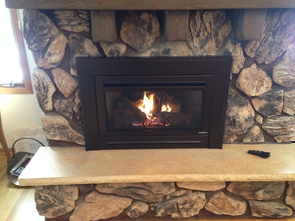 White Bear Lake, MN - Gas insert inspection