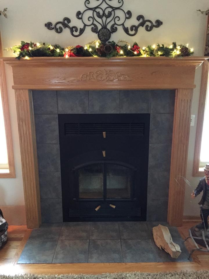 Oak Grove, MN - Serviced fan assist on wood burning fireplace