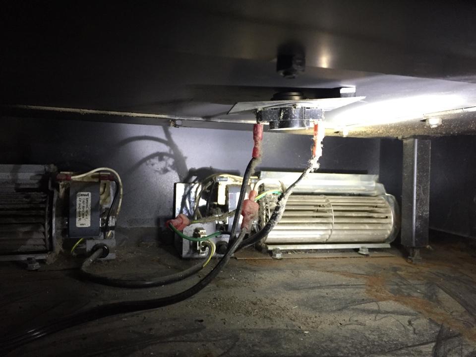 Oak Grove, MN - Moved the thermal heat sensor so fan kicks in sooner