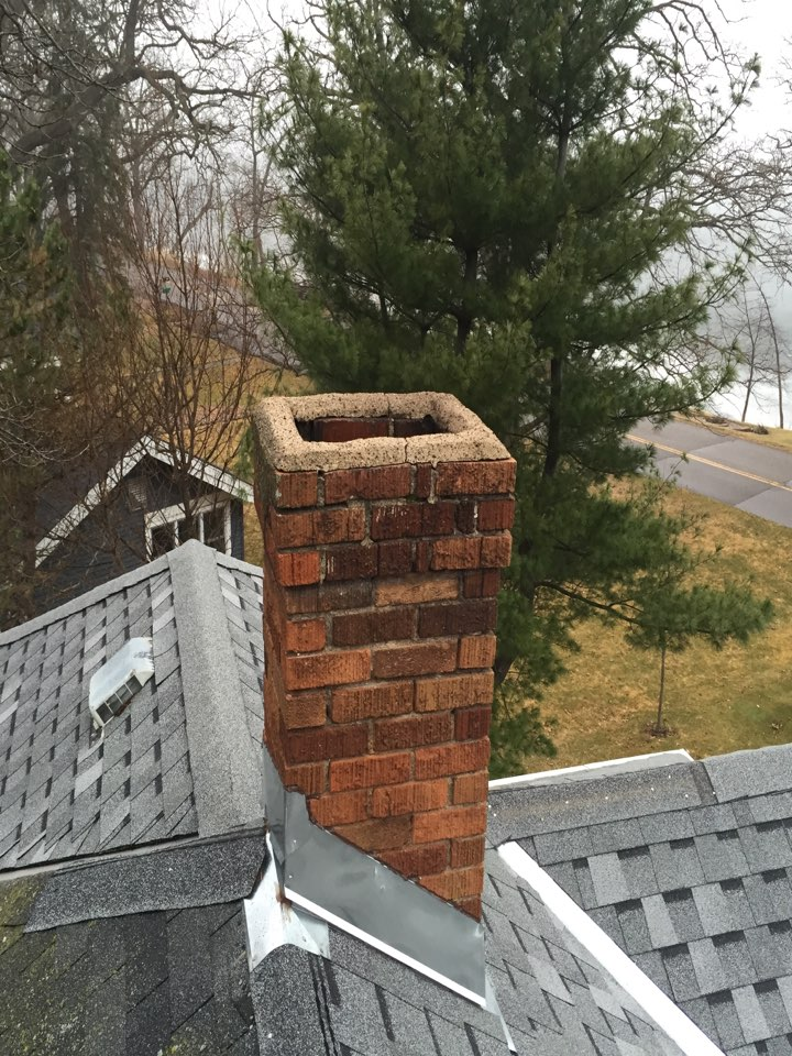 White Bear Lake, MN - Chimney cleaning and smartscan flue liner inspection